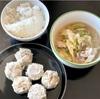 おうちごはん 豚白菜白キクラゲの炒め・焼売