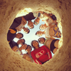 GoPro(ゴープロ)で砂の穴の中から撮影する神秘的な写真の撮り方を説明するぞっ!