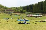 県民みどりの祭典 in 石川県森林公園。駐車場は早めの確保を。