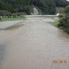 泥濁り、明日も入川不可