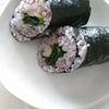 「わかめと新生姜の太巻き」レシピ