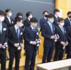 11月14日学生幹部交代式を実施