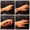 手の置き方で、印象が変わる。洗練された女性の印象をもたせるバレエの手のヒント
