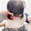 GU baby 発売!!そして7ヶ月の娘の髪の毛!長!!
