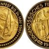 スイス1987年現代射撃祭記念1000フラン金貨グラールスPCGS PR69