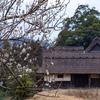 京都・越畑 - 冬から春へ。初春の河原家住宅