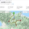 夜自転車キロロ+4つの峠120㎞