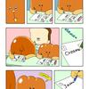 クリームパンのクリームさん「テスト」/ Mr.Cream bun「Examination」