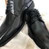 新調というには安い靴