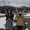 冬の鬼押し出し園は寒かった!軽井沢旅行3