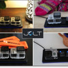 GoProユーザー必見!ケースに入れたまま充電可能なワイヤレス充電池 Jolt