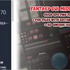 Fantasy GUI Middle Ages - 170 PNG Files ファンタジー系のUIテンプレート付きGUIテクスチャ素材集