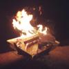 キャンプの楽しみは焚火とビール ~白髭キャンプ場と薪の値段~