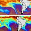 MIMIC-TPW また南極大陸からマイクロ波