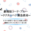 【映画】劇場版コード・ブルーを見た感想!ドラマを見てなくても楽しめます!