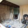 寝室を作る!⑦ プラスターボードで壁を建てる。