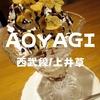 【上井草スイーツ】1950年創業「コーヒー&レストラン アオヤギ(AOYAGI)」昔ながらのチョコパフェだ