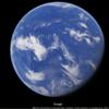 太平洋側から地球を眺めると海ばかりしか見えないという話