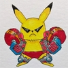 Franky x Cool Pikachu.