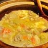 西安料理「羊肉泡膜」(羊スープすいとん)