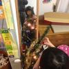 クリスマスツリー現る