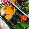 秋刀魚の炊いたの入り弁当