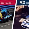 2台の世界チャンピオンカー