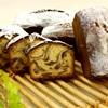 ココアとバニラのマーブルケーキ