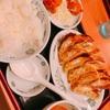 【グルメ】日高屋のダブル餃子定食を友人と食べてきた(^^)/