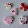 プライベートレッスンレポ。4歳になる女の子へ贈るキティちゃんのクッキーGift♡