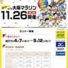 大阪マラソン2017エントリー概要発表!