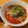 福井市のまほろばで、汁あり坦々麺(辛さ1)と、ミニチャーシュー丼。