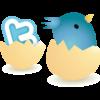 Twitterアプリの自分宛DMで顔写真をスタンプで隠す