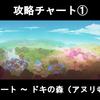 Switch版フェノトピア(PHOENOTOPIA)の攻略チャート①(スタート ~ ドキの森)