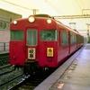 錯乱寸前、ハーフカメラ汚写真 たぶん1980年代前半の名鉄電車
