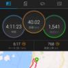 40km走〜ロング耐性計画1回目〜