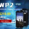 防塵防水スマホ「OUKITEL WP2」が週間セールの9月24日~9月30日に特価24,892円!イヤホンとアクションカメラも安い!