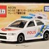 トミカ AEONオリジナル NO.52 三菱 ランサーエボリューションⅣ マレーシア警察仕様