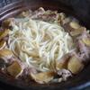 39冊目『おうちで食べようクイック麺』から3回めはしょうがたっぷり煮込みうどん