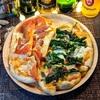 菜の花とアンチョビのピッツァとメンサの簡易IQテスト🍕😋