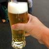 浅草スタンドで立ち飲みビール(浅草)