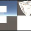 Unity:4画面テクスチャビューアの配置スクリプト