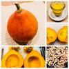 『加賀かぼちゃ→かぼちゃプリン&香ばしい種のローストおやつ』