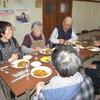 千歳会館での昼食交流会