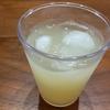 疲労回復!! レモン果汁のりんごジュース割り