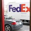 今日も FedEx 到着