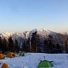 本格的な雪山を手軽に体験できる西穂 丸山