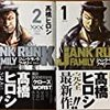 史村翔(武論尊)×池上遼一の「BEGIN」、高橋ヒロシの「ジャンク・ランク・ファミリー」、待望の新刊の比較です!