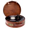 【Bluetooth対応】ヴィンテージの木製スーツケースを模したターンテーブル
