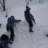 2月講座「雪あそび!」おもしろかったー!